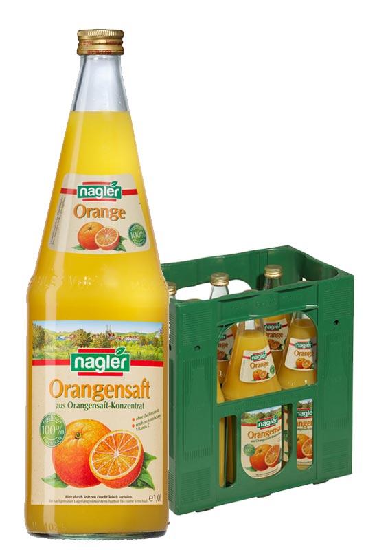 Nagler Orangensaft 6x1,0l