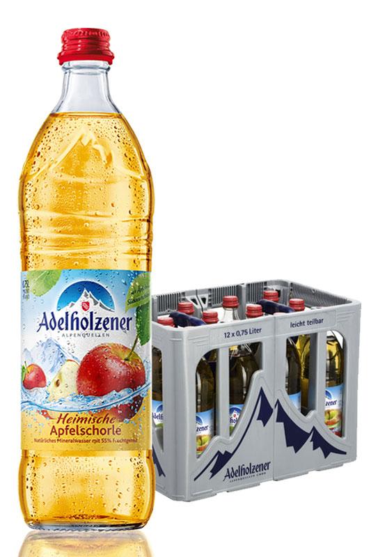 Adelholzener Heimische Apfelschorle 12x0,75l