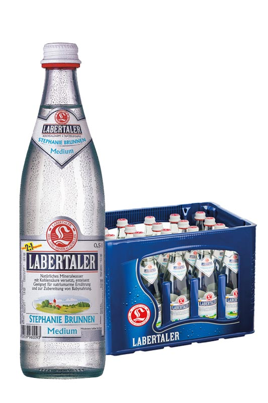 Labertaler Stephanie Brunnen medium 20x0,5l