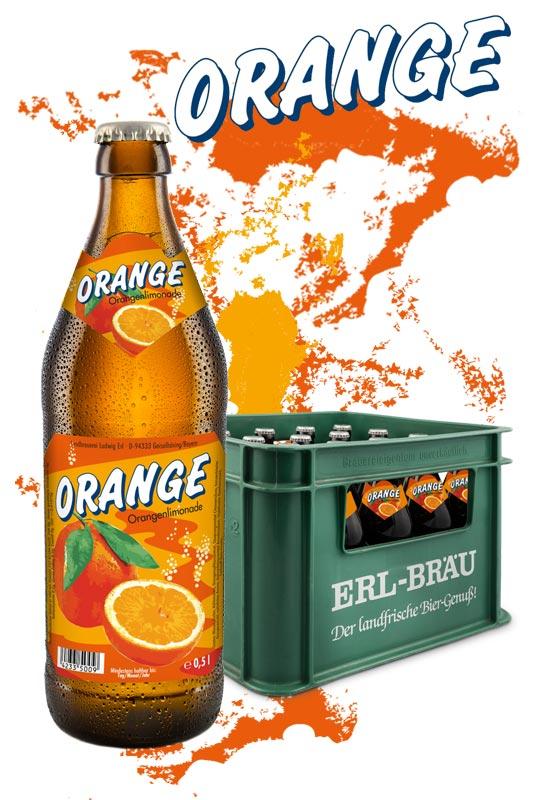 Erl Orangenlimonade 20x0,5l