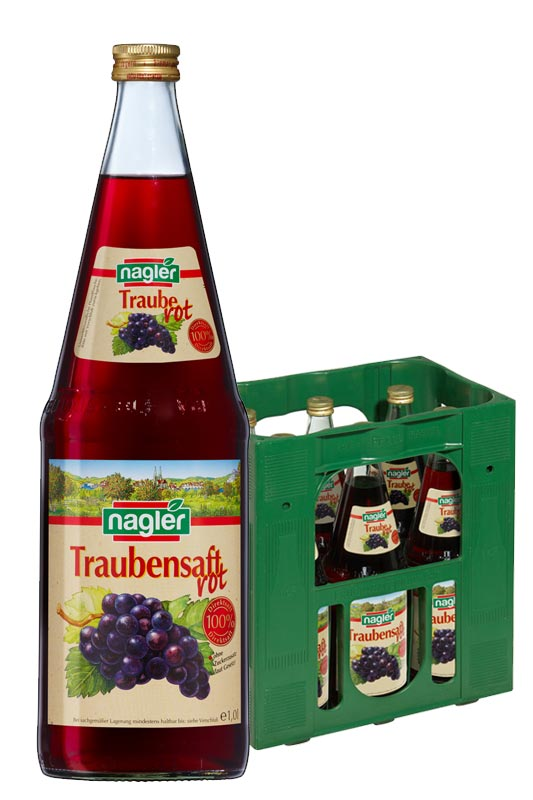Nagler Traubensaft 6x1,0l