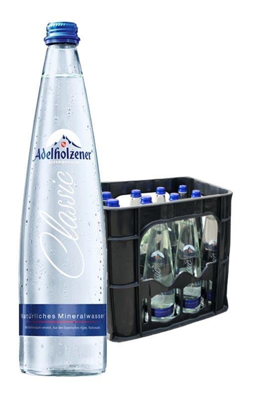 Adelholzener Gastro Classic spritzig 12x0,75l