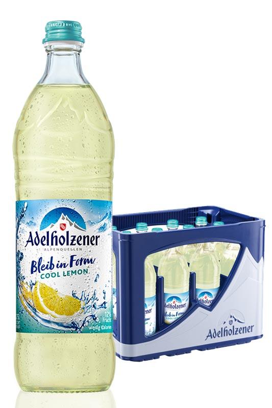 Adelholzener Bleib in Form Cool Lemon 12x0,75l