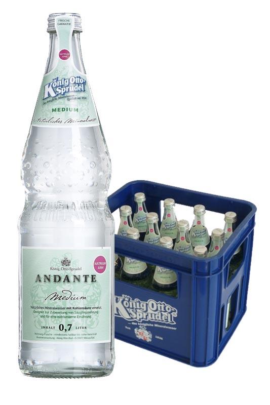 König Otto-Sprudel Andante medium 12x0,7l