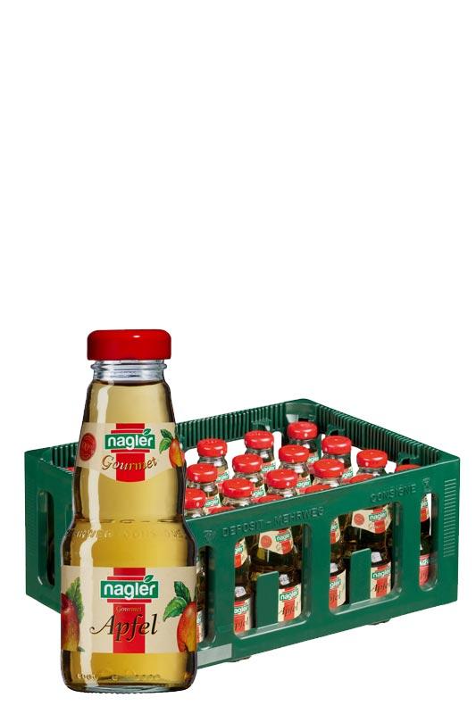 Nagler Apfelsaft klar 24x0,2l