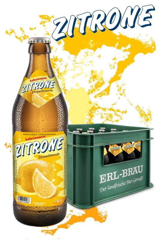 Erl Zitronenlimonade 20x0,5l
