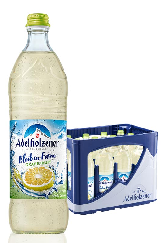 Adelholzener Bleib in Form Grapefruit 12x0,75l