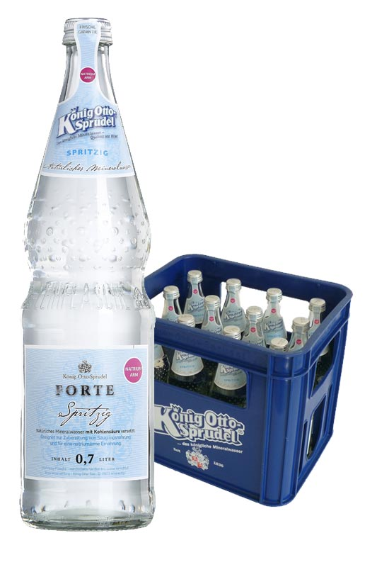 König Otto-Sprudel Forte spritzig 12x0,7l