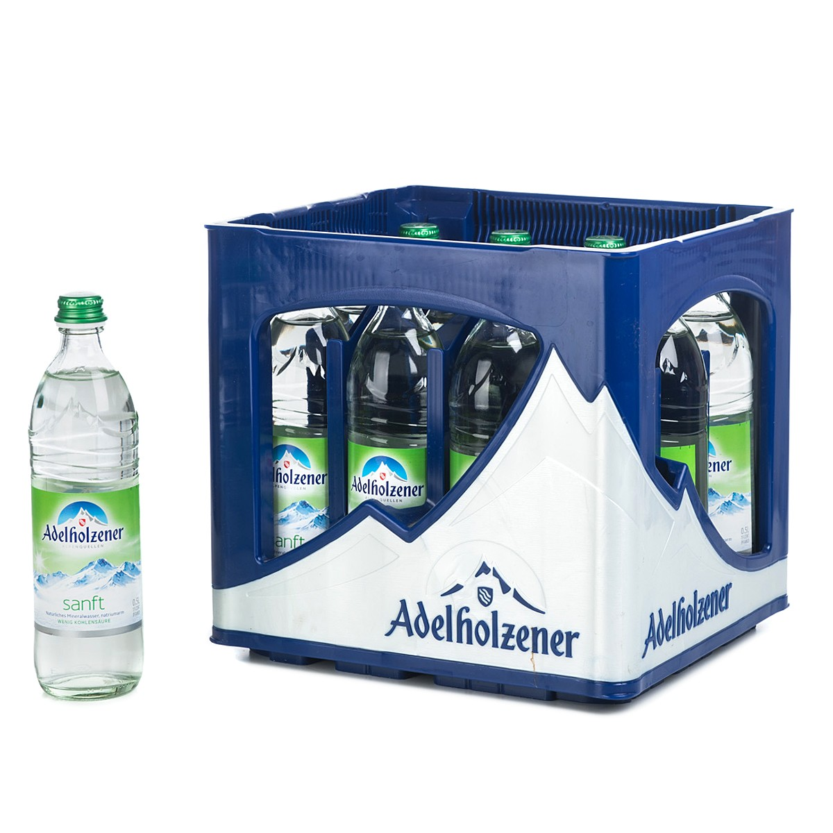 Adelholzener Sanft 12x0,5l Glas